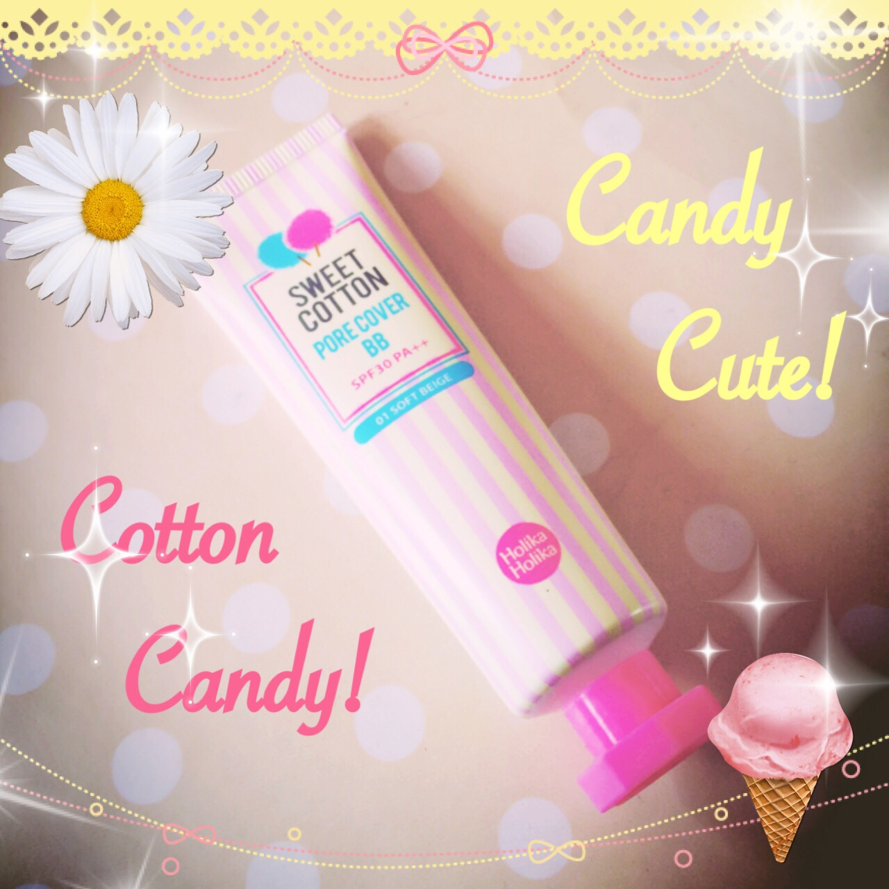 Holika Holika Sweet Cotton Pore Cover BB Cream