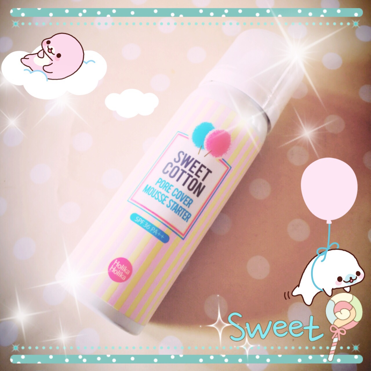 Holika Holika Sweet Cotton Pore Cover Mousse Starter