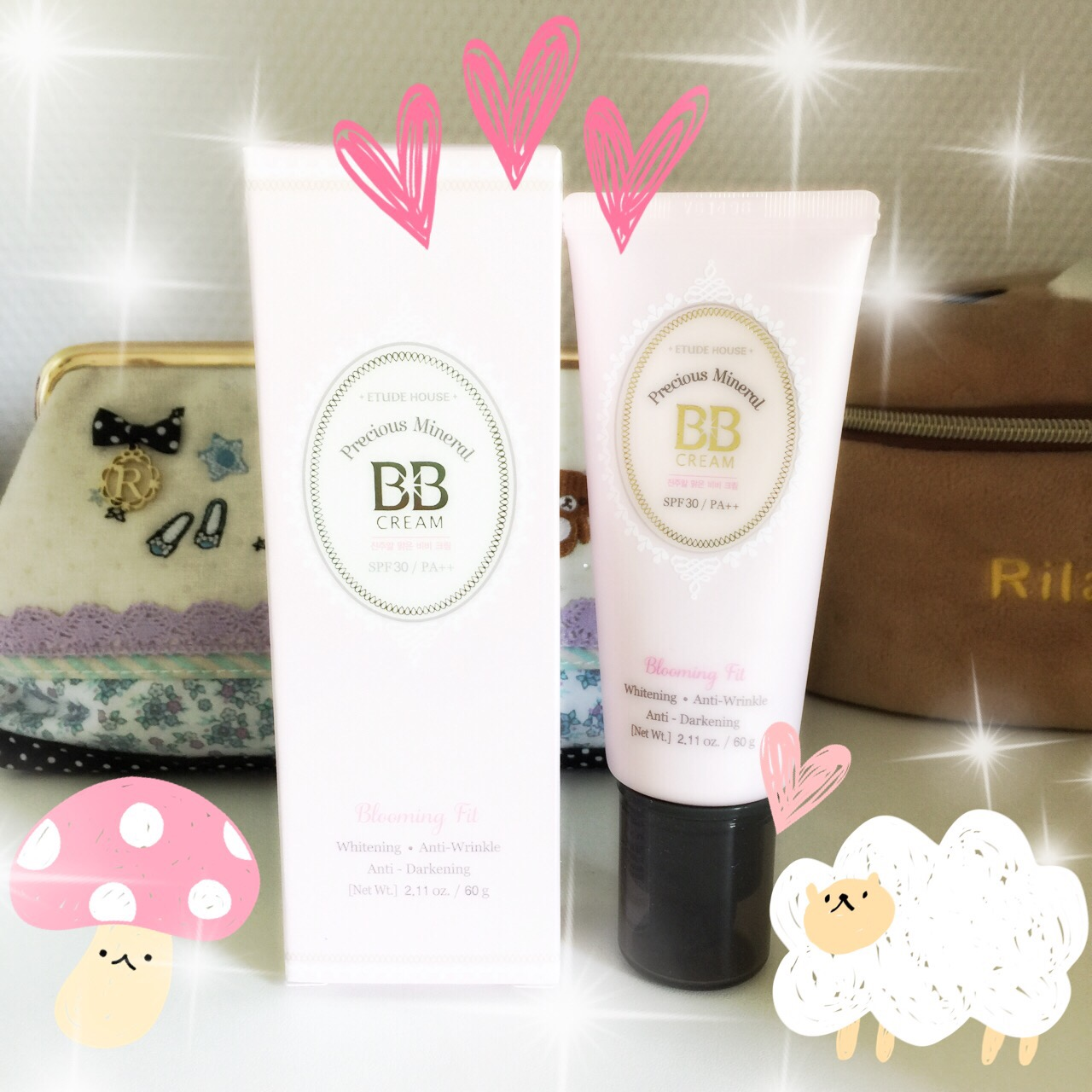 etude house precious mineral bb cream